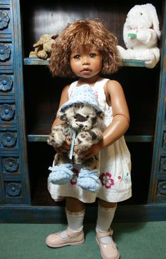 Monika Levenig doll Calista ( Kafi )
