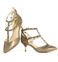 mark. Point The Way Heels- A classically feminine, pointy-toed kitten heel gets the rock 'n' roll treatment with edgy, pyramid-studded straps and a super-cool distressed texture.  Regularly $42.00, buy Avon Fashion online at http://eseagren.avonrepresentative.com