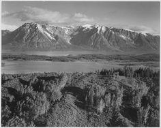 Grand Teton, Wyoming (II), ca. 1941 by Ansel Adams