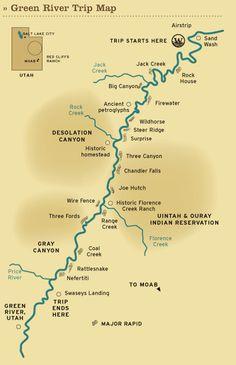 Green River rafting trip through Utah's Desolation Canyon