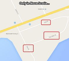 Nova Scotia creativity...