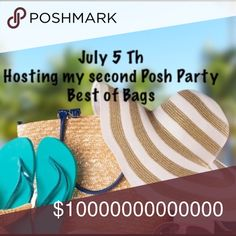 Hosting Posh Party at 3:00pm EST Best of Bags  7/5 Hosting my second Posh Party best of bags  and totes all brand new backpacks ,Totes ,Bags .. Victoria's Secret Other