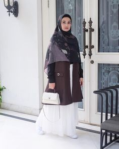 Clothes for women office blazers 17 super ideas Casual Hijab Outfit, Hijab Chic, Boho Outfits, Fashion Outfits, Style Fashion, Abaya Fashion, Modest Fashion, Fashion Muslimah, Muslim Women Fashion