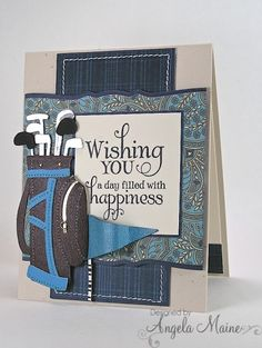 Father's Day Golfing by Arizona Maine - Cards and Paper Crafts at…