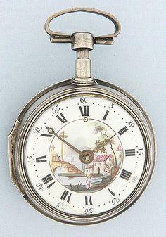Bogoff Antique Pocket Watches Krumphuber Bell Verge Half-Quarter Repeater - Bogoff Antique Pocket Watch # 6776
