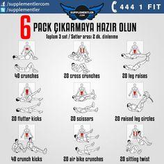 Yaz Geldi Gelecek Haydi Six Pack' leri Görelim!  #fitness #motivation #sixpack #abs #karınkası #antrenman #kas #bodybuilding #vücutgelistirme