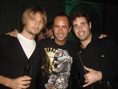 Con Juan y Iram en el Shoko