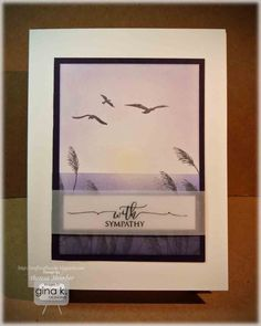 Theresa Momber: GKD Scripty Sentiment Card - By The Sea 2