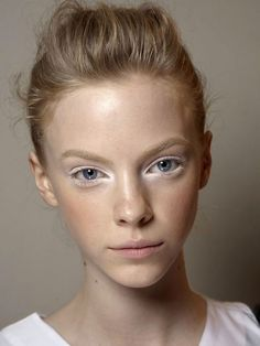 5 White Eye Makeup Looks to Inspire Your Snow Season Beauty   Byrdie