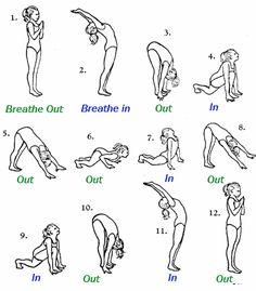 Yoga Stellungen & Übungen Ideen für Yoga Übungen