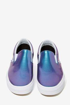 Vans Classic Slip-On Sneaker - Iridescent - Shoes | Flats | Vans | All | Under $100