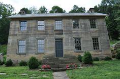 Kennedy Stone House  Near Salt Fork Lake, Ohio