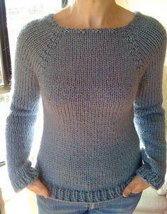 Sweater free knitting pattern