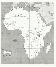 "Search Results for ""Blank Physical Map Of Africa"" – Template 2019 Geography Worksheets, Map Worksheets, Social Studies Worksheets, 6th Grade Social Studies, World History Lessons, Teaching History, Sub Saharan Africa Map, Touch Point Math, African Empires"