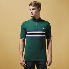 740618648 Fred Perry x Bradley Wiggins Cycling Polo Shirt Cycling Wear