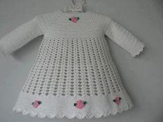 Croche pro Drink: Little dresses found the net, pure inspiration ....