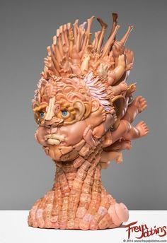 Esculturas hechas con muñecas descuartizadas - VICE