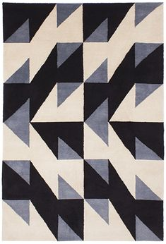 Patternity -- Emma Victoria Raynor -- A rug design but it could be a very nice quilt pattern.