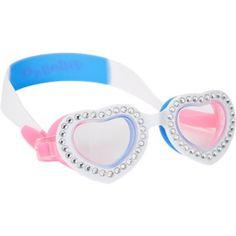 Bling2o Heart-Shape Blue Bubblegum Bling Goggles