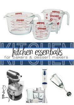 Kitchen Essentials for Dessert Makers & Bakers | eBay