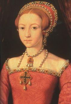 Princess Elizabeth, daughter of Henry VIII and Anne Boleyn