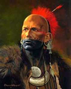 Indian Pictures: Ottawa Indian Warrior