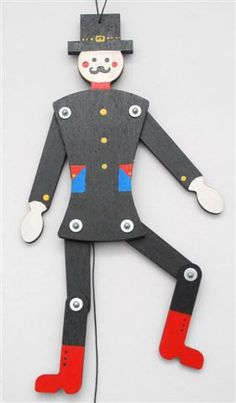 Jumping Jack Toy, The Wooden Horse