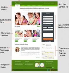 Appointway - Appointment and booking FREE #WordPress Theme