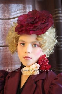 coolest effie trinket from the hunger games girl halloween costume