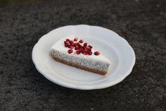 Děvče u plotny - Makový cheesecake se zakysanou smetanou