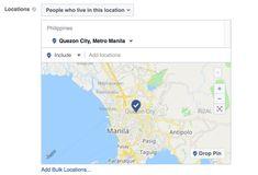 geo targeting facebook ad Quezon City, Facebook Users, Manila, Geo, Philippines, Target, Digital, Target Audience, Goals