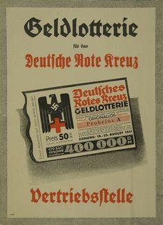"""""""Geldlotterie für das Deutsche Rote Kreuz"""""""