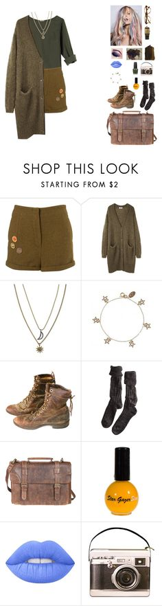 """""""Untitled # 098"""" by misserdbeer ❤ liked on Polyvore featuring Dries Van Noten, Acne Studios, Rachel Rachel Roy, Cath Kidston, Polder, Scully, Lime Crime and Longines"""