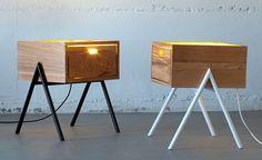 Mobília e luminária ao mesmo tempo. Israelense cria coleção híbrida de design