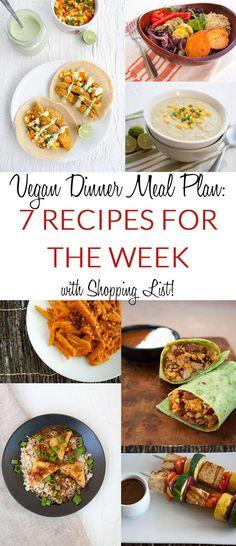 Vegan Dinner Meal Plan 7 Recipes For the Week with Shopping List &; Vegan Dinner Meal Plan 7 Recipes For the Week with Shopping List &;t Bite veggiesdontbite Vegan Recipes {MEAL […] meals plan vegan Best Vegan Recipes, Vegan Dinner Recipes, Diet Recipes, Vegetarian Recipes, Baking Recipes, Healthy Recipes, Healthy Meals, Crockpot Recipes, Vegetarian