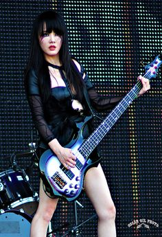 Asian Bass Player 81