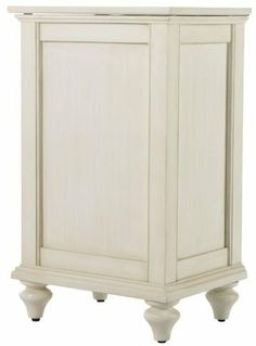 "Hamilton Lift top Hamper, 30.5""Hx18.5""W, DISTRESSED WHITE by Home Decorators Collection. $289.00. 30.5""H x 18.5""W x 14.5""D.. Our Hamilton Lift-Top Hamper ensures that your dirty clothes always have a place to go. The convenient lift-top and antique white finish will help this hamper withstand frequent, heavy use in your home. Bring style to your home today with this hamper. Order yours now. Features stylish details like recessed panels. Also works as a recycling bin. Actu..."