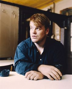 Philip Seymour Hoffman another belated one in colour.