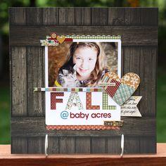 Fall @ Baby Acres - Scrapbook.com