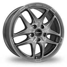 View large image of 17 Inch Borbet XB Graphite Alloy Wheels
