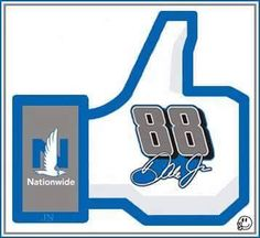 Thumbs up for Dale Jr.!