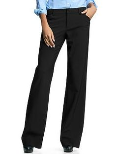 Perfect trouser pants - Introducing our perfect trouser. Ready to work overtime, this pair is designed to flatter all shapes. A perfectly tailored silhouette gives way to a slightly flared leg. The end result: stylish, poised looks.
