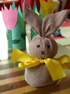Easter Projects, Easter Crafts, Diy For Kids, Gifts For Kids, Diy And Crafts, Rabbit, Seasons, Christmas Ornaments, Holiday Decor
