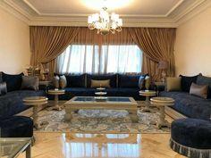 Salon marocain – salon marocain moderne – tables – Intérieur sur mesure