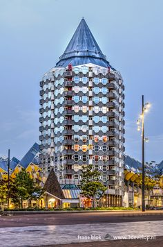 Rotterdam, Futuristic Architecture, Most Beautiful Cities, My Photos, Things To Do, Buildings, Skyline, Ballet, Landscape