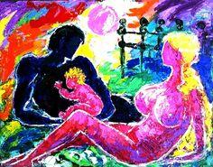 Artwork >> Eva Kudukhashvili >> ,,a family''