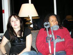 2010 - Janina Spangenberger and Jo Key up at Slaley Hall