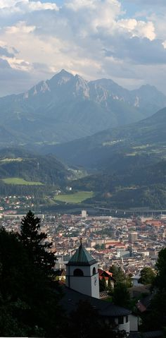 Innsbruck, Austria. I love the mountains, I love the rolling hills...