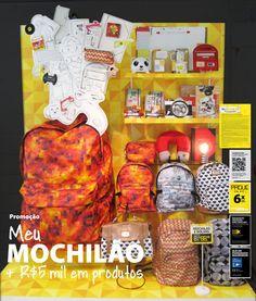 A vitrine Mochilão chegou às lojas Imaginarium de todo o Brasil!