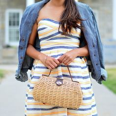 Catch this week's Chic's girly summer stripes